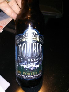 Mammoth Brewing Double Nut Brown Porter