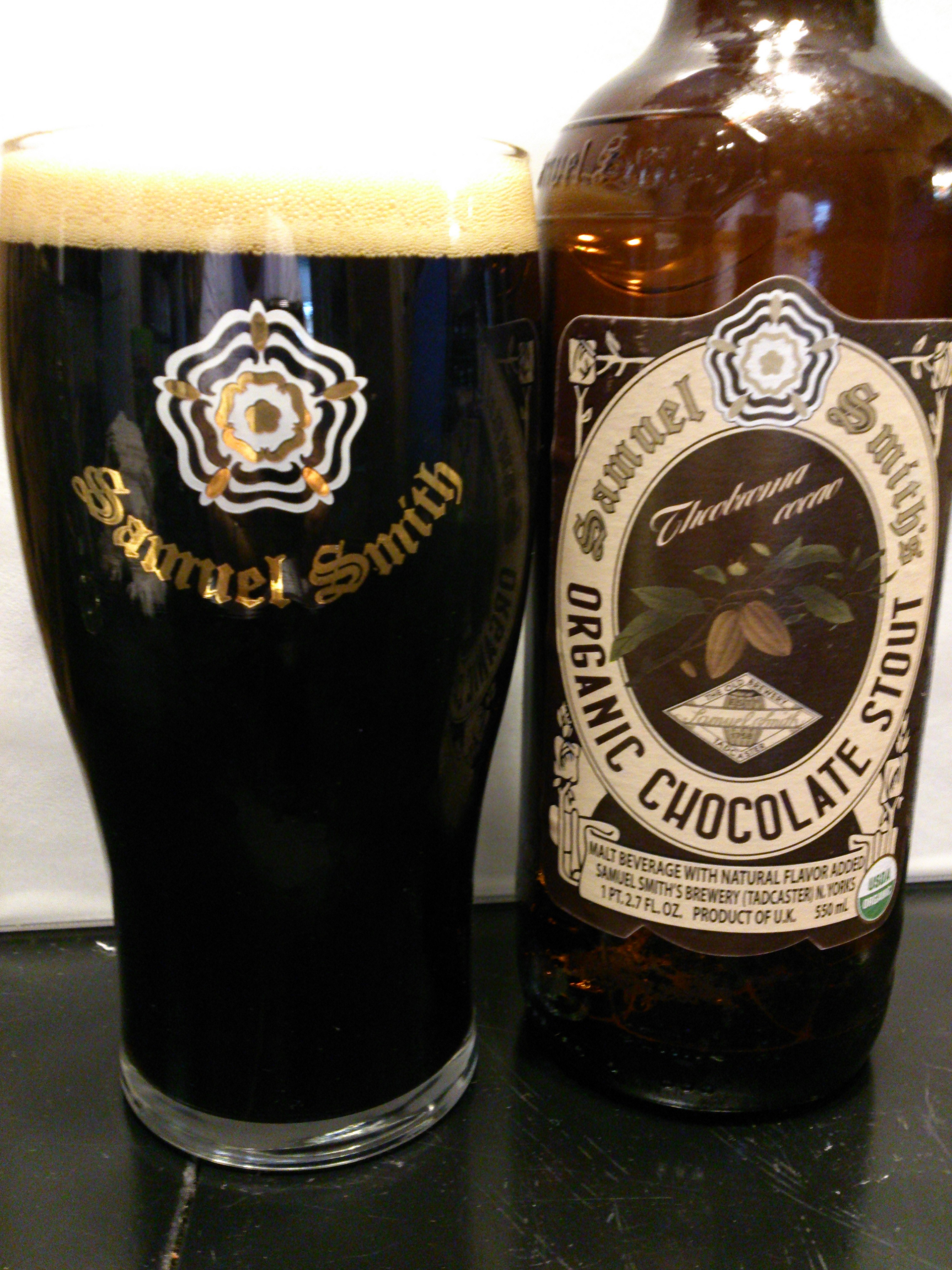 Samuel Smith's Organic Chocolate Stout | Toby's Beer Reviews