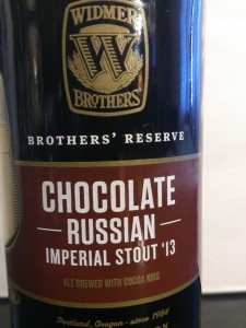 Widmer Brothers Chocolate Russian Imperial Stout '13