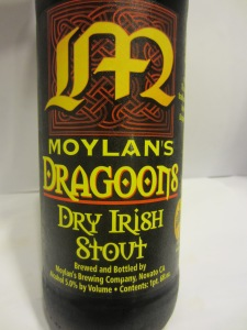 Moylan's Dragoons Dry Irish Stout