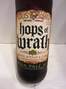 "Dust Bowl Brewing ""Hops Of Wrath"" India pale Ale"