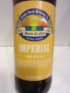 Green Flash: Imperial India Pale Ale