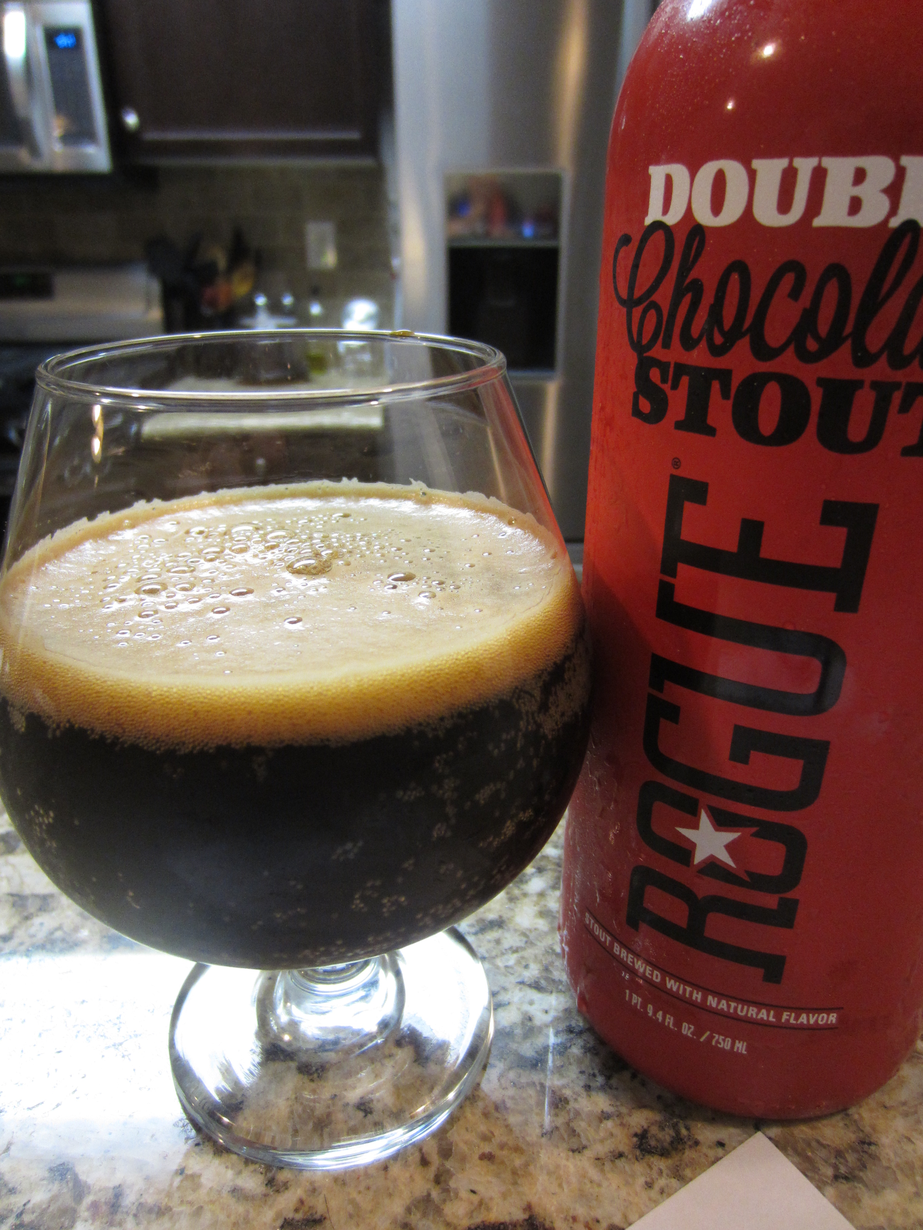 Rogue: Double Chocolate Stout   Toby's Beer Reviews