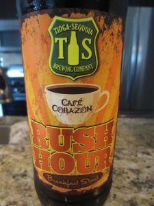 Tioga-Sequoia: Rush Hour Breakfast Stout