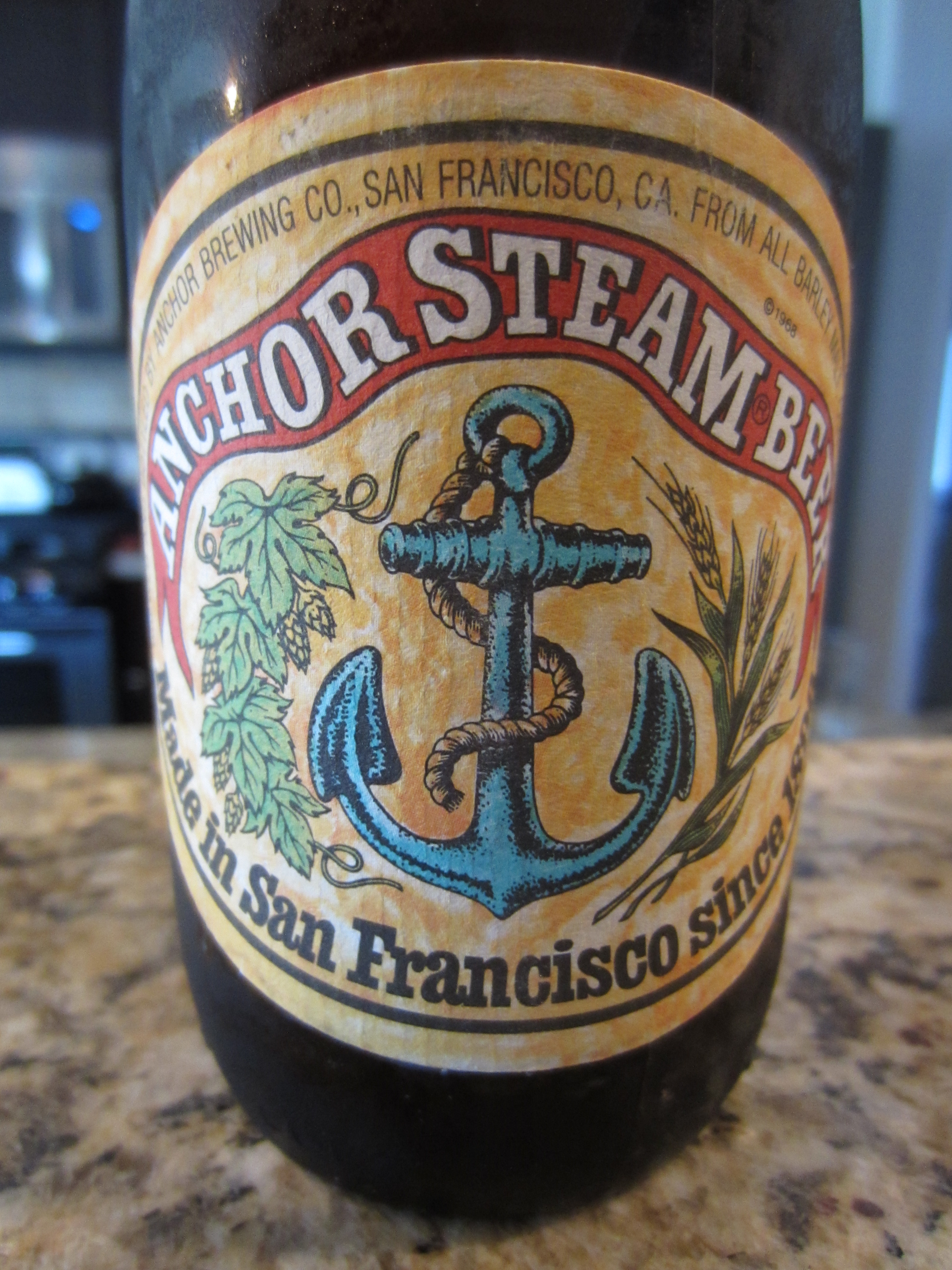 Anchor Steam Beer - Beer Review - YouTube