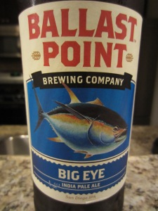 Ballast Point: Big Eye India Pale Ale